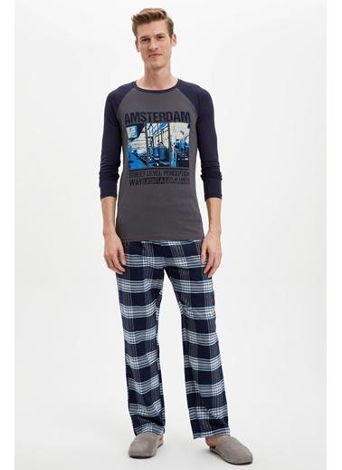Doremi Amsterdam Erkek Pijama Takımı Lacivert
